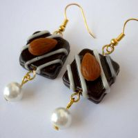 CONFECTIONERY EARRINGS by theporcelainrose