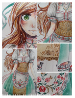 Hungary-chan commission detail by namirenn