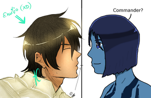 Emilio and Cortana by Shinigami-Spartan