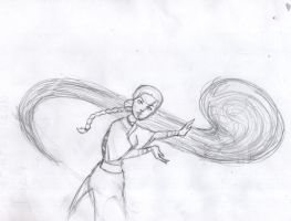 katara    waterbending by Gasty83
