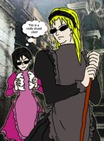 Wesker and Ada...UNDERCOVER by Wesker-Chick