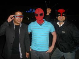 My buddies and I at X-men 3 by shadowcast89