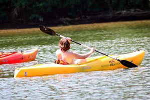 Kayaking on the Potomac by Phr0sty