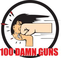100 Damn Guns 3 by Kaijubait
