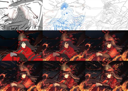Making of Oda Nobunaga by Rosuuri