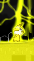 Shocking jolteon by Shadow-Pikachu6