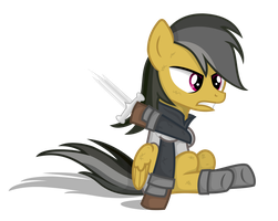Daring Do as Isildur by shadowdark3