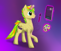 MLP OC: FuzzleBrush by TheEpicFailure