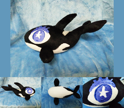 Killer whale plushie (commissions) by astuyasiroh09