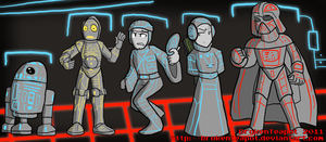 Tron Wars by BrokenTeapot