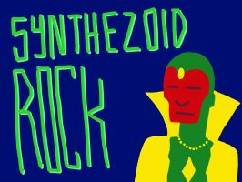 Synthezoid Rock - 7 Star Sky Flash Kick by nickmarino