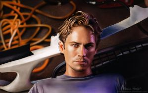 Paul Walker by MonicaHooda