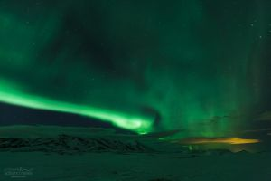 Light Up The Sky - Iceland by acseven