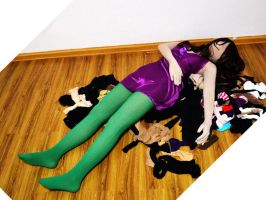 Girl in Zentai by mysexyzentai