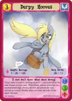 Derpy Hooves - MLPMinis Profile Card by MLPMinis