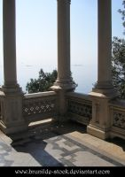 Miramare's Castle - Balcony14 by brunilde-stock