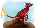 Pokemarathon - 005 Charmeleon by MoonlostArts