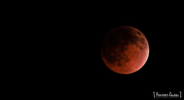 The Red Moon by Ramses-Anael