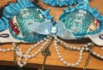 Alice and wonderland rave bra by fullmetalfan2