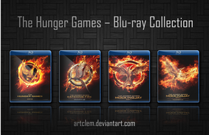 The Hunger Games Folder Icons - Complete series by ArtClem