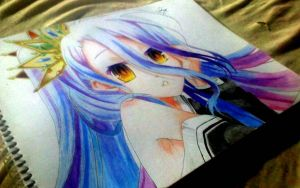 Shiro (No Game No Life) by SarahUsagi-chan