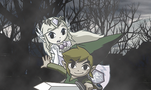 Ghost of You - Zelink by Dark-Palace