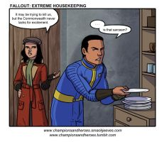 Champions and Heroes: Extreme Housekeeping by Ddriana