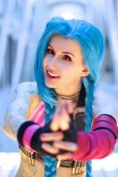 League of Legends: Stick 'em Up by PurblindCosplay