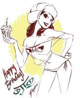 Happy Birthday to Sir Otto Schmidt by raysagun