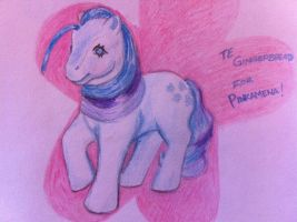 G1 TE Gingerbread for Pinkamena by Candy-Bang
