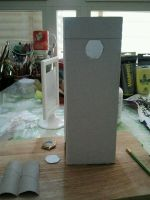 paper model spooky tower by Paiolomagicoshop