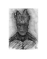 Groot - Daily Sketch by Geekincognito