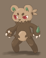 Fakemon: Punchufaec by oiiChyo
