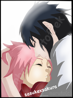SAKURA AND SASUKE SLEEPING BEUTY NO GENJUTSU! COVR by ambarnarutofrek1