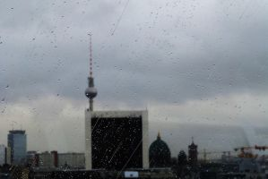 Berlin in the rain by PhilsPictures