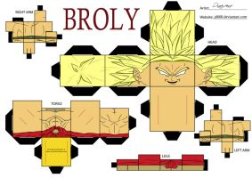 BROLY by Cubee-acres