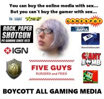 Boycott all Gaming Media by Dr-Scaphandre