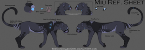 Miu Ref. Sheet by TheShadowedGrim