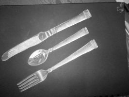 Silver Spoon in his Mouth by Circumspecto