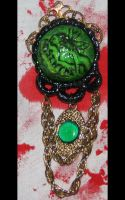 Absinthe Fairy Gothic Brooch by asunder