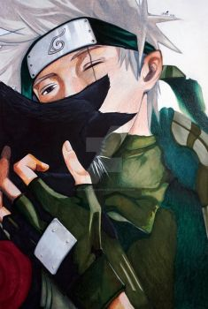 Kakashi and the black cat by Krystal89IT