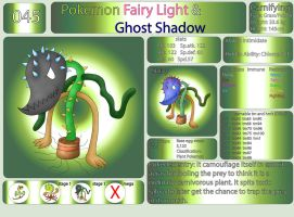 Pokemon Fairy Light and Ghost Shadow ''045'' by AndkeAnka