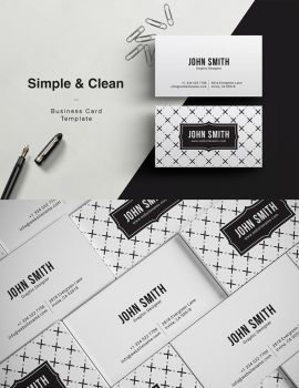 Simple Clean Business Card by madebyarslan