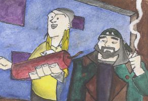 Jay and Silent Bob - Color by darthy13
