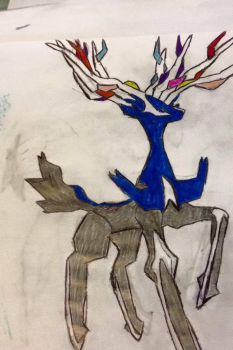 Xerneas by ThinaXanel