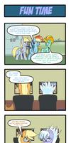 Pony 4 Koma - Fun Time by Reikomuffin