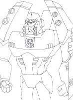 Animated  Megatron Outlines by BlackTerrorsaur