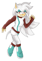 Gift - Trina the hedgehog x3 by SapphiresFlame