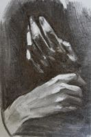 Hands study by Tifaerith