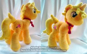 Custom Pony Plush - Alibaba by Sparkle-And-Sunshine